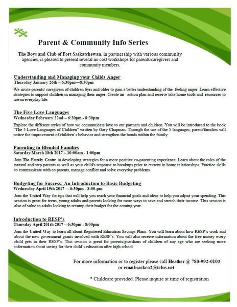 Parent And Community Info Series Fall 2016 Promotion 3